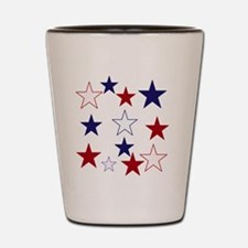 Stars for the 4th Shot Glass