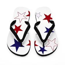 Stars for the 4th Flip Flops
