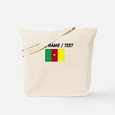 Custom Cameroon Flag Tote Bag