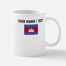 Custom Cambodia Flag Mug