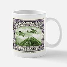 Antique 1931 Nicaragua Momotombo Volcano Postage S