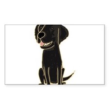 Flat Coated Retriever Decal