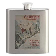 Chamonix Mont-Blanc France Flask