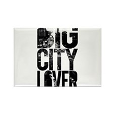 Big City Lover Rectangle Magnet