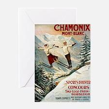 Chamonix Mont-Blanc France Greeting Card