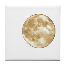 Moon Art Tile Coaster