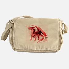 Red Dragon Messenger Bag