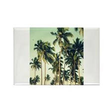 Palm Trees Rectangle Magnet