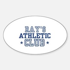 Ray Oval Decal