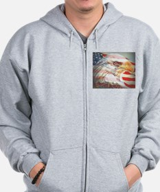 4th of july Zip Hoodie