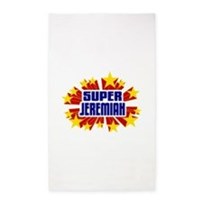 Jeremiah the Super Hero 3'x5' Area Rug