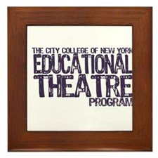 CCNY Ed Theatre Framed Tile