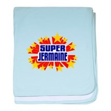 Jermaine the Super Hero baby blanket
