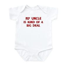 Uncle is a big deal Onesie
