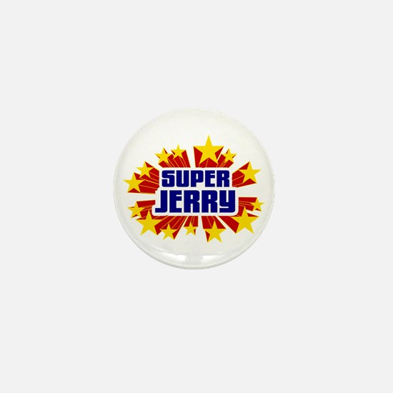 Jerry the Super Hero Mini Button