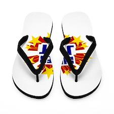 Jett the Super Hero Flip Flops