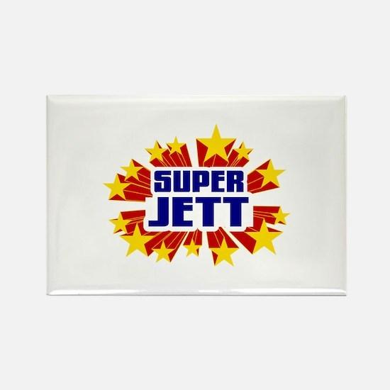 Jett the Super Hero Rectangle Magnet