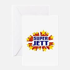 Jett the Super Hero Greeting Card