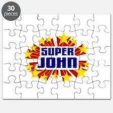 John the Super Hero Puzzle