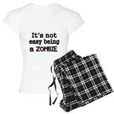 Its not easy being a ZOMBIE-black Pajamas