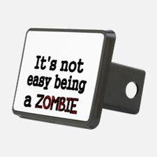Its not easy being a ZOMBIE-black Hitch Cover