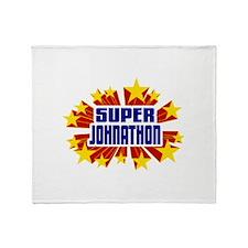 Johnathon the Super Hero Throw Blanket
