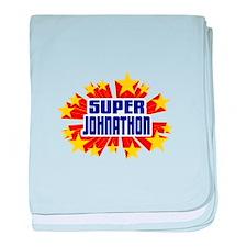 Johnathon the Super Hero baby blanket