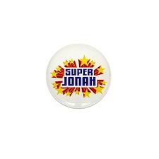 Jonah the Super Hero Mini Button