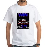 Win a Free Country! Vote 3rd PartyWhite