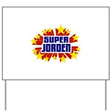 Jorden the Super Hero Yard Sign