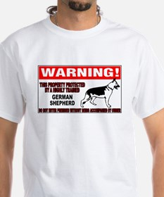 GERMANSHEPHERDGUARDSIGN.jpg T-Shirt