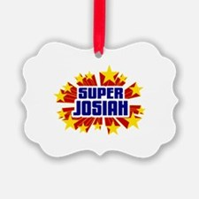 Josiah the Super Hero Ornament