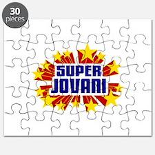 Jovani the Super Hero Puzzle