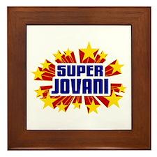 Jovani the Super Hero Framed Tile