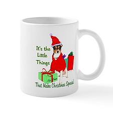 Rat Terrier Christmas Mug