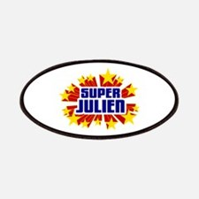 Julien the Super Hero Patches