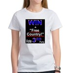 Win a Free Country! Vote 3rd Party!Women