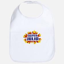 Julio the Super Hero Bib