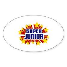 Junior the Super Hero Decal