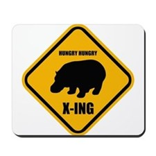Hungry Hippo Crossing ONLY Mousepad