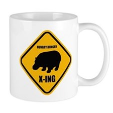 Hungry Hippo Crossing ONLY Mug