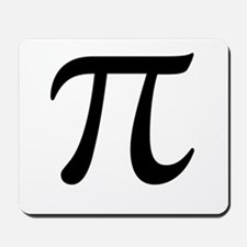 Pi Day Symbol Mousepad