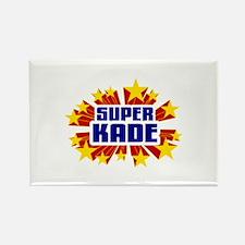 Kade the Super Hero Rectangle Magnet