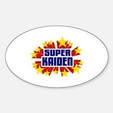 Kaiden the Super Hero Decal
