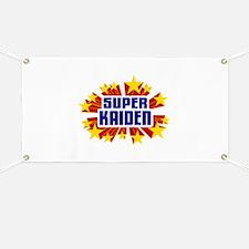Kaiden the Super Hero Banner