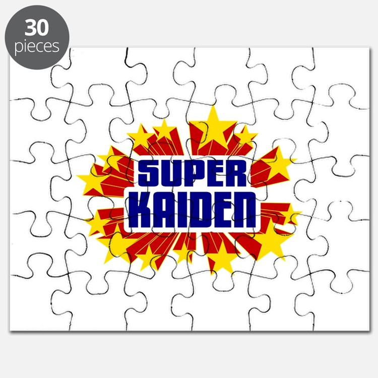 Kaiden the Super Hero Puzzle