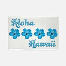 Aloha Hawaii Rectangle Magnet