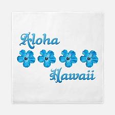 Aloha Hawaii Queen Duvet