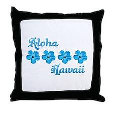 Aloha Hawaii Throw Pillow