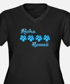 Aloha Hawaii Plus Size T-Shirt